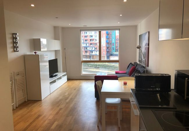 Apartment in Ipswich - 1 Bed, Waterfront, Parking, (2nd Flr) 203