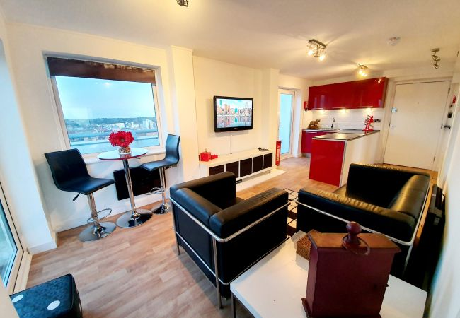 Apartment in Ipswich - 1 Bed Penthouse, Central, (16th Flr) 1602